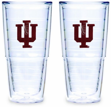 Indiana Set of TWO 24 oz. Tervis Tumblers
