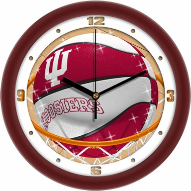 Indiana Slam Dunk Wall Clock
