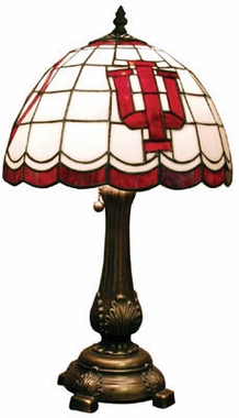 Indiana Stained Glass Table Lamp