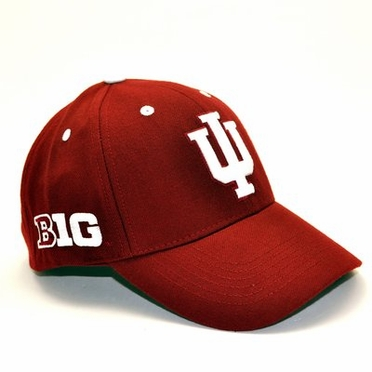 Indiana Triple Conference Adjustable Hats