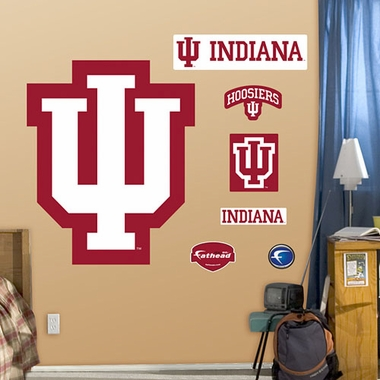 Indiana University Logo Fathead Wall Graphic