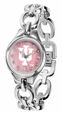 Indiana Women's Eclipse Mother of Pearl Watch