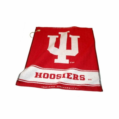 Indiana Woven Golf Towel