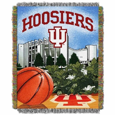 Indiana Woven Tapestry Blanket