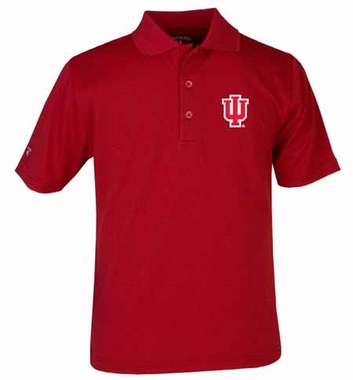 Indiana YOUTH Unisex Pique Polo Shirt (Color: Red)