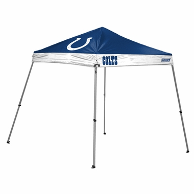 Indianapolis Colts 10 x 10 Slant Leg Shelter