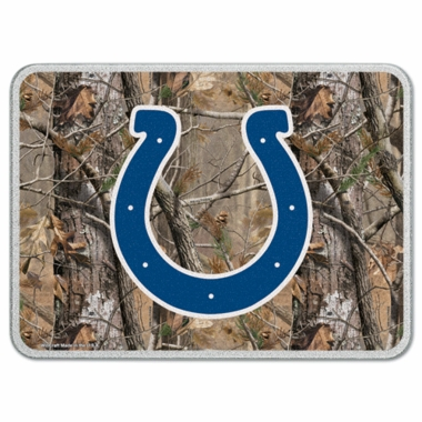 Indianapolis Colts 11 x 15 Glass Cutting Board (Realtree)