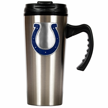 Indianapolis Colts 16 oz. Thermo Travel Tumbler (Slim)