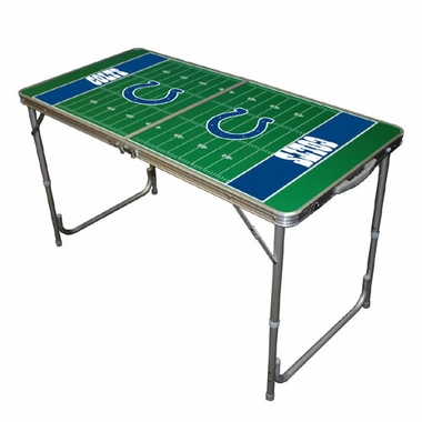 Indianapolis Colts 2 x 4 Foot Tailgate Table