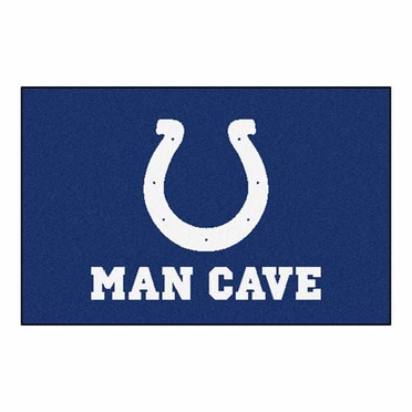 Indianapolis Colts 20 x 30 Man Cave Rug