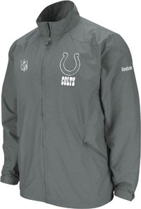 Indianapolis Colts 2nd Season Static Storm Lightweight Jacket - Large