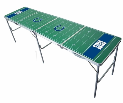 Indianapolis Colts 2x8 Tailgate Table