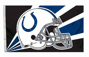 Indianapolis Colts 3'x5' Helmet Design Flag