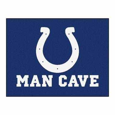 Indianapolis Colts 34 x 45 Man Cave Rug