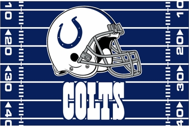 Indianapolis Colts 40 x 60 Rug