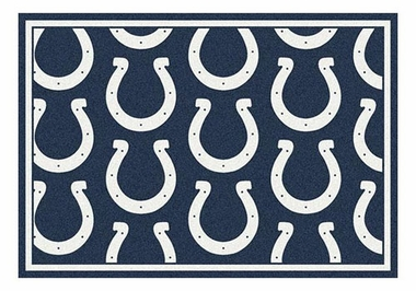 "Indianapolis Colts 5'4"" x 7'8"" Premium Pattern Rug"