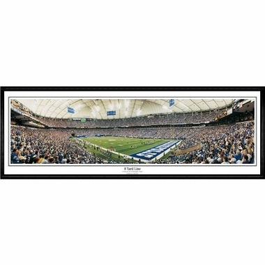 Indianapolis Colts 8 Yard Line Framed Panoramic Print