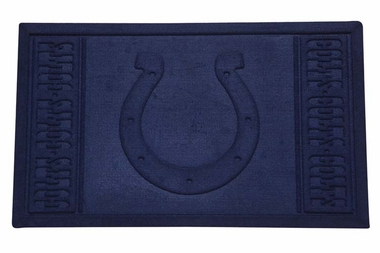 Indianapolis Colts Absorbent Entrance Mat