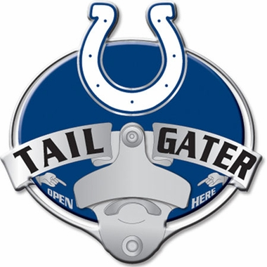 Indianapolis Colts Bottle Opener Hitch Cover