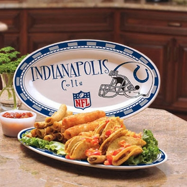 Indianapolis Colts Ceramic Platter