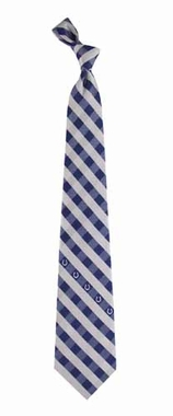Indianapolis Colts Check Poly Necktie