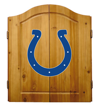 Indianapolis Colts Complete Dart Cabinet