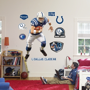 Indianapolis Colts Dallas Clark Fathead Wall Graphic