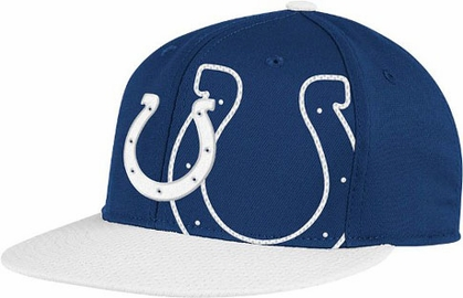 Indianapolis Colts Double Logo Flex Hat
