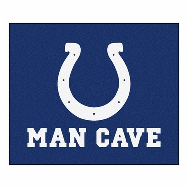 Indianapolis Colts Economy 5 Foot x 6 Foot Man Cave Mat