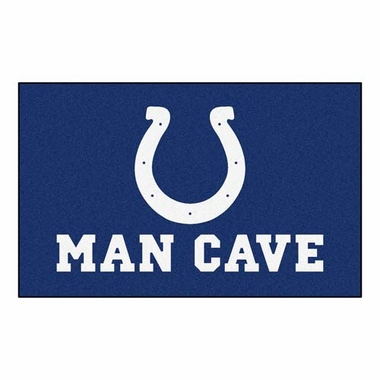 Indianapolis Colts Economy 5 Foot x 8 Foot Man Cave Mat