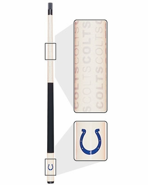 Indianapolis Colts Eliminator Pool Cue