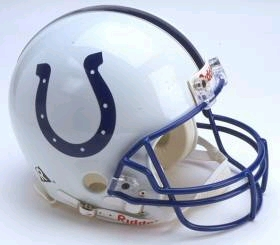 Indianapolis Colts Full Sized Replica Helmet