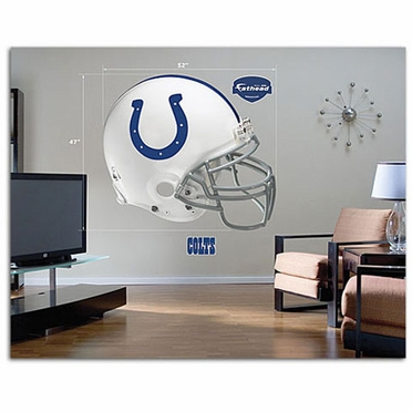 Indianapolis Colts Helmet Fathead Wall Graphic