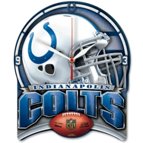 Indianapolis Colts High Definition Wall Clock