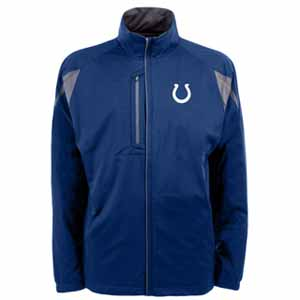 Indianapolis Colts Mens Highland Water Resistant Jacket (Team Color: Royal) - XX-Large