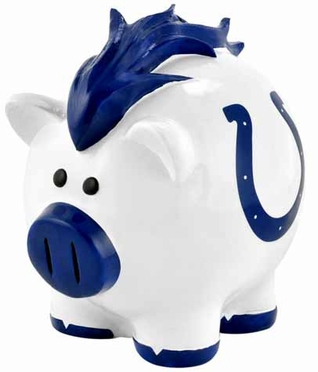Indianapolis Colts Large Thematic Piggy Bank