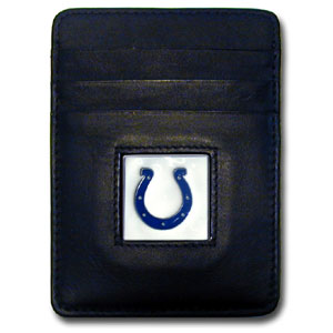 Indianapolis Colts Leather Money Clip (F)