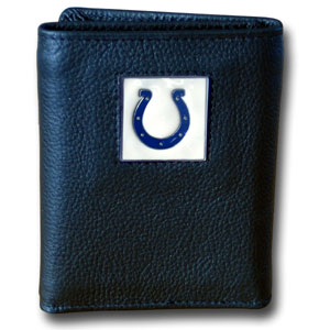 Indianapolis Colts Leather Trifold Wallet (F)