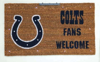 Indianapolis Colts Lighted Coir Mat