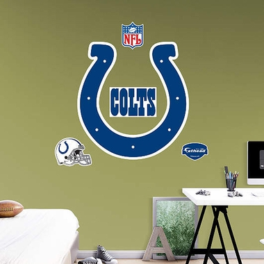 Indianapolis Colts Logo Fathead Wall Graphic