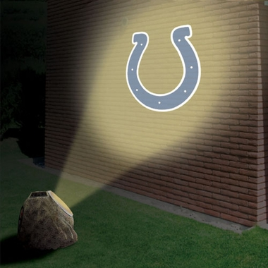 Indianapolis Colts Logo Projection Rock
