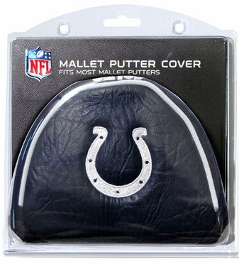 Indianapolis Colts Mallet Putter Cover