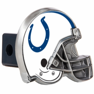 Indianapolis Colts Metal Helmet Trailer Hitch Cover