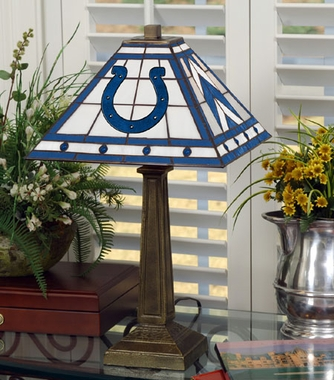 Indianapolis Colts Mission Lamp
