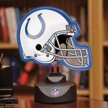Indianapolis Colts Neon Display Helmet