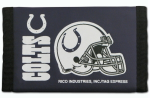 Rico Indianapolis Colts Nylon Wallet