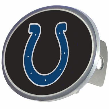 Indianapolis Colts Oval Metal Hitch Cover