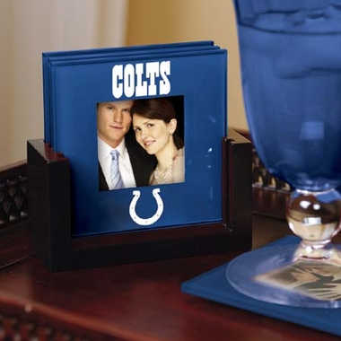 Indianapolis Colts Photo Coaster Set