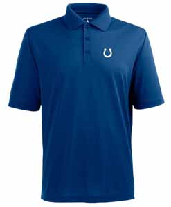 Indianapolis Colts Mens Pique Xtra Lite Polo Shirt (Color: Royal) - Large