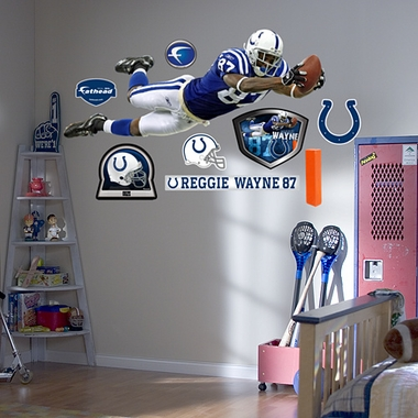 Indianapolis Colts Reggie Wayne Fathead Wall Graphic
